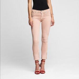 NWTs HUDSON • Tally Deep Cuff Crop Skinny Jeans